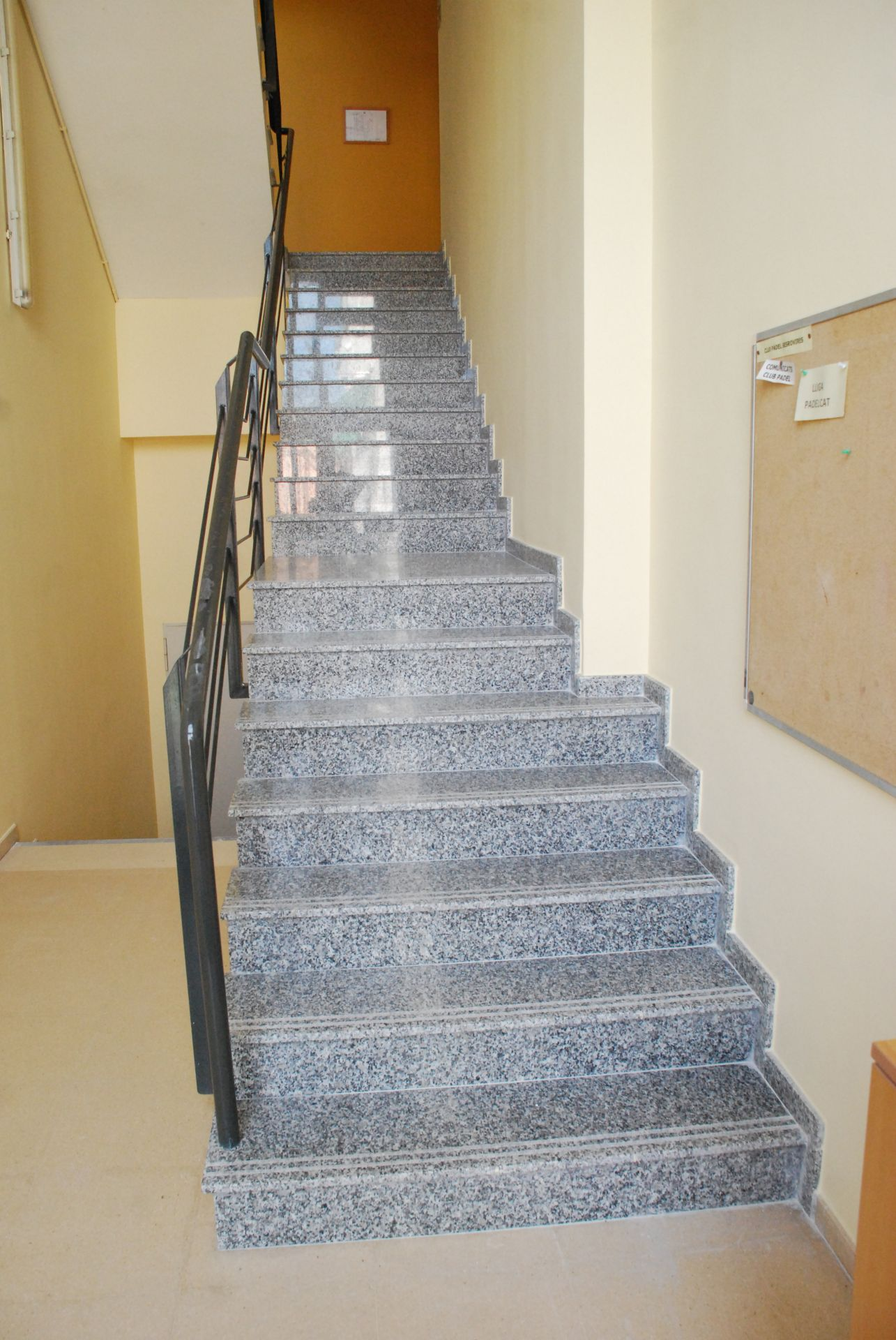 Les escales un cop reparades