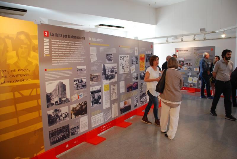 Exposició sobre la repressió franquista