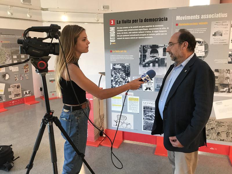ETV entrevista al regidor Jordi Borrell