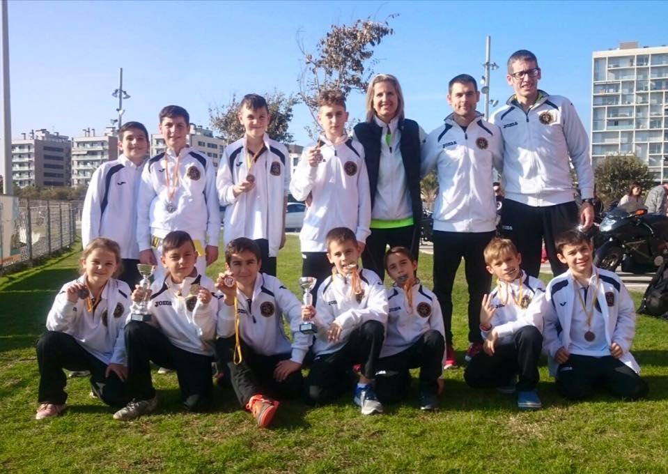 Campionat de Catalunya de Taekwondo. Foto cedida per l'Escola Taekwondo Sesrovires