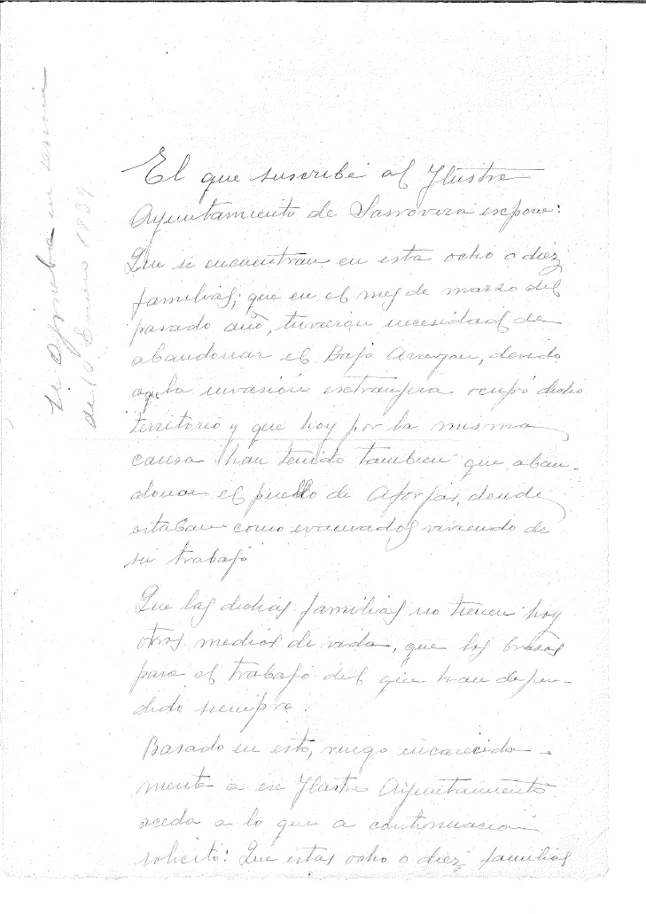 Document Evacuats de la Guerra Civil