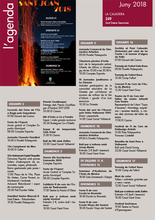 Agenda La Calaixera