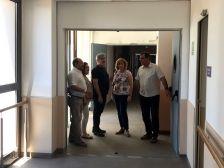 L'alcaldessa, regidors i responsables municipals a la Residència de Can Serra