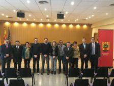 Reunió d'alcaldes del Baix Llobregat amb PIMEC