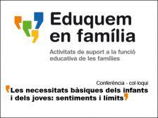 Xerrada sobre les necessitats d'infants i joves