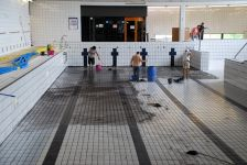 Manteniment piscina coberta